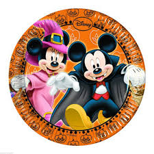 mickey mouse halloween party plates halloween wikii