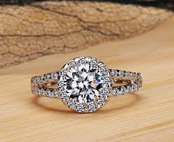wedding rings malaysia diamond rings malaysia 2 carat 8mm sona simulated diamond