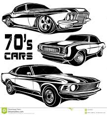 classic cars clip art muscle car vector poster stock vector image of model 62536963