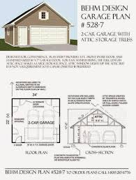 garage plans blog behm design garage plan examples plan 528 7