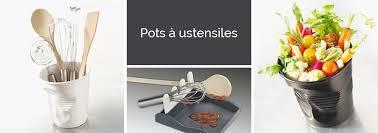 pot ustensile cuisine pots à ustensiles organisation de la cuisine mathon fr