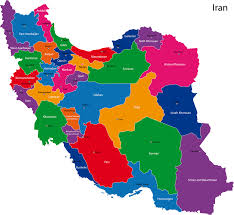 map iran map of iran cities major tourist attractions maps