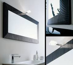 Black Mirror Bathroom Black Illuminated Bathroom Mirrors Black Mirrors With Lights