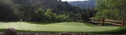 canadian backyard private putting green u2013 artificial grass in canada