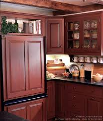 pictures of red kitchen cabinets red country kitchens magnificent rustic red kitchen cabinets 20211