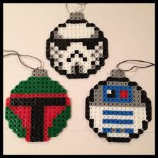 wars ornaments perler by k8bithero my