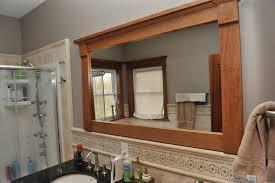 Trim Around Bathroom Mirror Trim Around Bathroom Mirror