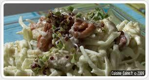 cuisine celeri recette bio salade de céleri à l avocat et noix