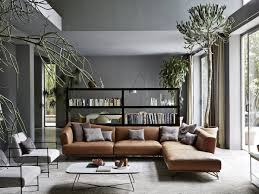 home decor brown leather sofa home decor brown leather sofa grey fabric chairs white coffee