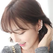 jual ear cuff baby swan ear cuff yes24 indonesia