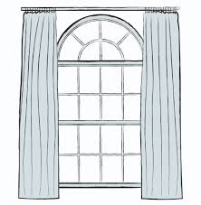 Curtains For Arch Window How To Hang Curtains The Right Way Leedy Interiors
