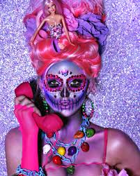 day of the dead makeup looks gloss