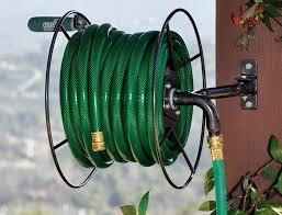 gorgeous wall mounted garden hose reel garden hose reel wall mount