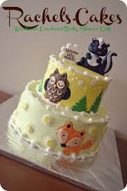 woodland creatures baby shower decorations winter woodland animals baby shower decorations baby cake