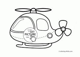 coloring page for toddlers cartoon helicopter coloring page for toddlers transportation