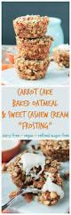 carrot cake baked oatmeal gluten free dairy free veggie inspired