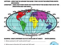 geography worksheets u0026 free printables education com