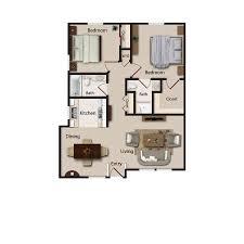 520 sq ft senior apartment floor plans echelon of tucson senior living