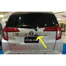 Daihatsu Sigra Trunk Lid Cover Chrome jual trunk lid besar toyota calya daihatsu sigra chrome di