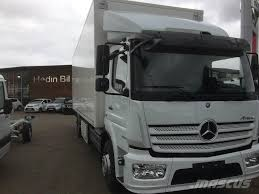 mercedes trucks for sale in usa used mercedes atego 1524 kylbil reefer trucks year 2017 for