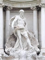 greek gods statues oceanus a titan in greek mythology