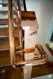 katharine pooley copper staircase handrail stairs we love at