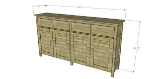 Slim Sideboards Plans To Build A Slim Sideboard U2013 Designs By Studio C