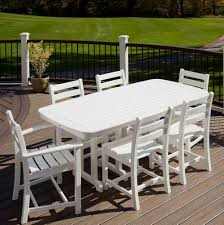 furniture polywood 5 piece monterey bay dining set by trex