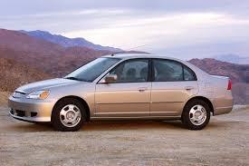 use car honda civic 2003 2005 honda civic hybrid used car review autotrader