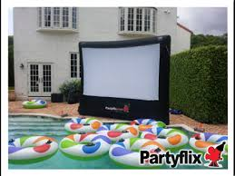 inflatable movie screens are the way to go
