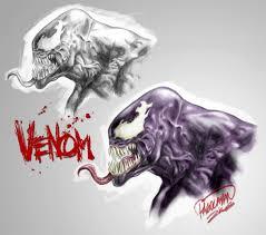 venom sketch by guisadong gulay on deviantart