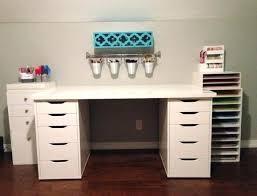 Craft Desk Organizer Rustic Desk Upgrade Hackers Desk Organizer Ikea Rustic Desk