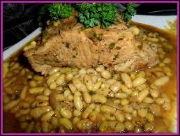 cuisiner des flageolets rôti de porc flageolets passiflore d héllyane
