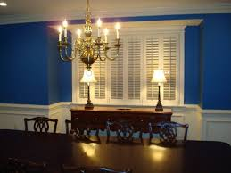 plantation shutters grace formal dining room traditional