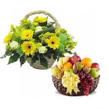 flowers and fruits flowers and fruits combo send flowers and fruits to india