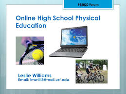 online pe class high school ppt online high school physical education powerpoint