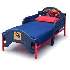 Todler Beds Character Toddler Bed Choose Your Character Walmart Com