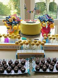 Birthday Decoration Ideas For Adults Emoji Birthday Party Ideas Diy Inspired