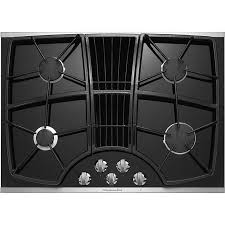 Downdraft Cooktops Kitchenaid Kgcd807xss 30 4 Burner Downdraft Cooktop
