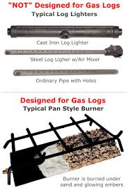 Fireplace Burner Pan by Can I Buy Just The Logs