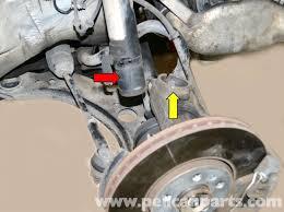 car front suspension volkswagen golf gti mk iv front strut replacement 1999 2005