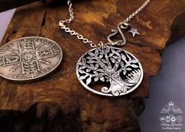 silver coin pendant necklace images The pennies from heaven collection by hairy growler jewellery jpg