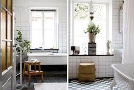 Grout Bathroom Floor Tile - white tile black grout mint