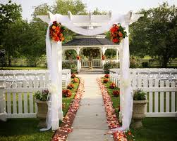 Garden Wedding Ceremony Ideas Garden Wedding Aisle Ideas Webzine Co