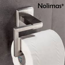 sus 304 stainless steel paper roll holder chrome brushed toilet