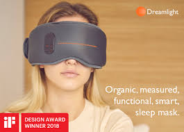 sleep mask light alarm dreamlight the world s smartest sleep mask indiegogo