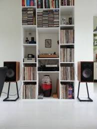 stereo speaker stands foter
