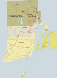 Map Of Newport Ri Rhode Island County Maps