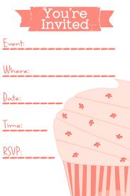 tea party birthday invitations free printable template amazing