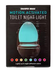 toilet light sharper image toilet night light stage stores